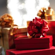 holyday gifts - stock photo