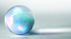 Mystical glass sphere Stock Footage