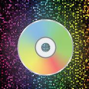 compact disc - stock illustration