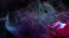 Abstract colorful smoke 4K - stock footage