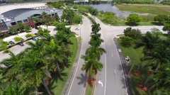 Aerial video Harley Davidson Ft Lauderdale Stock Footage