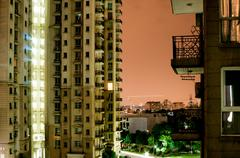 apartments in gurgaon - stock photo