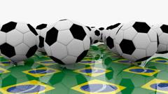 Soccer balls episode 2 Stock Footage