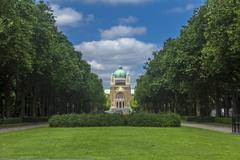 Stock Photo of basilica sacred heart parc elisabeth brussels belgium