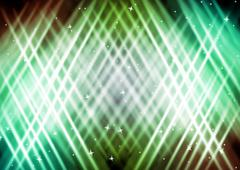 abstract lights colorful background with star - stock photo