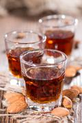 Stock Photo of some amaretto shots