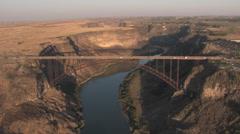 Perrine Bridge Twin Falls, ID Stock Footage