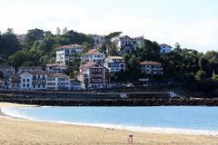 Houses in Biarritz - stock photo
