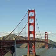 Golden Gate Bridge - stock photo