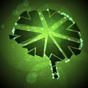 Stock Illustration of Brain crushing