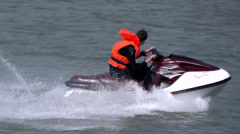 Jet Skiing 1 Stock Footage