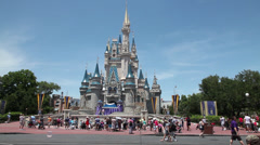 Cinderella's Castle 2 Stock Footage
