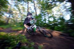 Biker Stock Photos