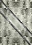 Light relief pattern on a satin steel background Stock Illustration