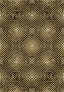Stock Illustration of Light brown relief pattern  with oval back light