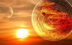 Maya prophecy Stock Illustration