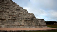 Stock Video Footage of Chichen Itza pyramid