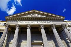 Spanish Congress of Deputies at Madrid - stock photo