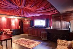 luxury karaoke in european style - stock photo