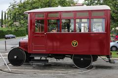 Replica Ford Model T railcar. - stock photo