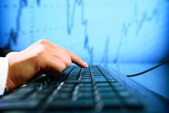Stock Photo of data info