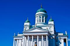 Cathedral of Helsinki - stock photo
