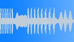 DnB or dubstep bass glitch synth 0002 Sound Effect