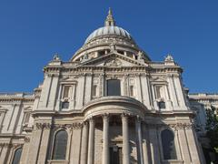 Stock Photo of St Paul Cathedral, London