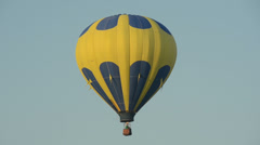 Colorful hot air balloon Stock Footage