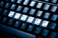 keyboard access key - stock photo
