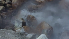 Azores Furnas , Vulcanic Boiling Water Stock Footage