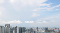 4k Ultra HD time lapse video of skyline, Cairnhill, Singapore(TL--SG SKYLINE 18) Stock Footage