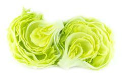 Green Iceberg lettuce - stock photo