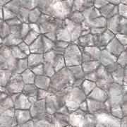 Beautiful weathered granite boulder simulated illustration - seamless texture pe Stock Illustration