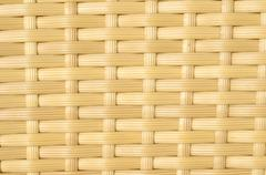 Plastic rattan weaving texture (furniture) - natural photo texture perfect for 3 Stock Photos