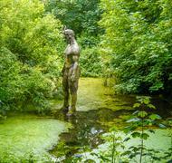 Statue Person - stock photo