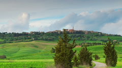 Tuscany time lapse - stock footage