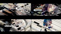 Stripes.Elegant slideshow - stock after effects