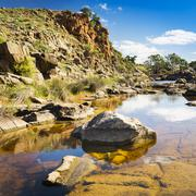 Outback oasis Stock Photos