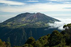 Volcano on Costa Rica Stock Photos