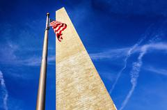 Washington Monument - stock photo