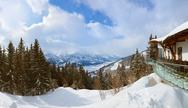 Stock Photo of Mountains ski resort Zell-am-See Austria