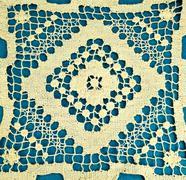 Embroidery doily Stock Photos