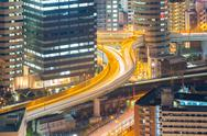 Stock Photo of Osaka Highway
