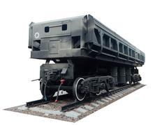the freight car - stock photo