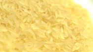Stock Video Footage of 4K Rice Grains Food Yellow