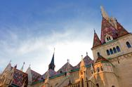 Stock Photo of matthias church in budapest hungary