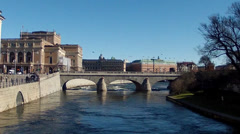 Stockholm Old Town HD Stock Footage