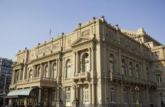 Colon theatre, buenos aires, argentina. Stock Photos