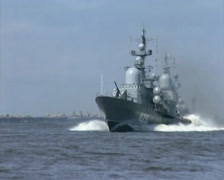 Naval parade in Baltysk (2003) - 04 Stock Footage
